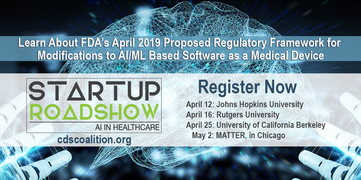 Startup Roadshow: AI in Healthcare - Register Now